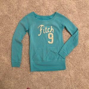Abercrombie pullover crew sweatshirt XS